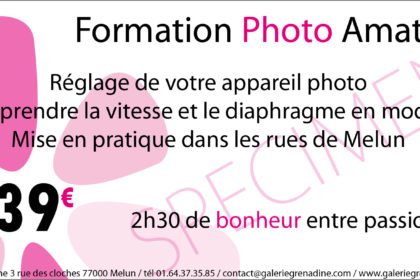 Cours photographique / Formation Photo Amateur {Melun}