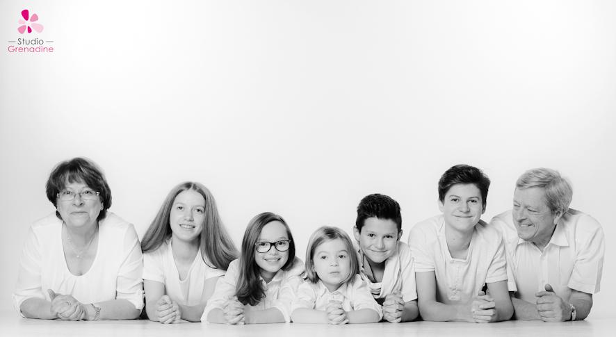 Photographe de grande famille Paris